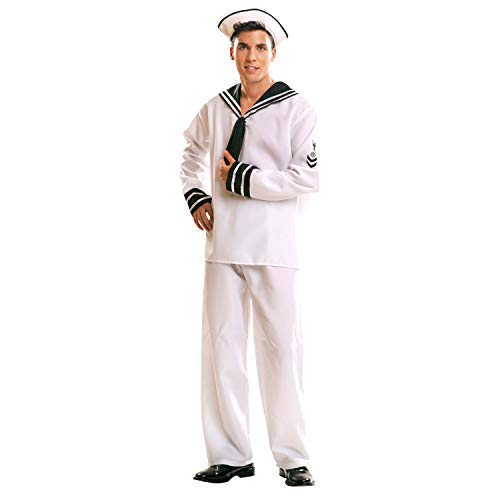 My Other Me – costume da marinaio per adulti (Viving Costumes mom01017) XL