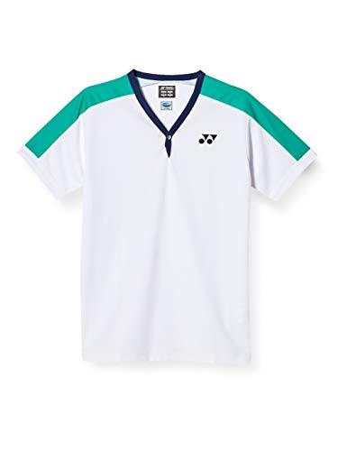 [ヨネックス] テニスシャツ 75thゲームシャツ(フィットスタイル) メンズ ホワイト (011) L