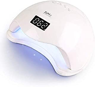 UV LED Nail Lamp,Nail Dryer LED UV Nail Light for Gels Polishes with Sensor 4 Timer SJXING 48W SUN5