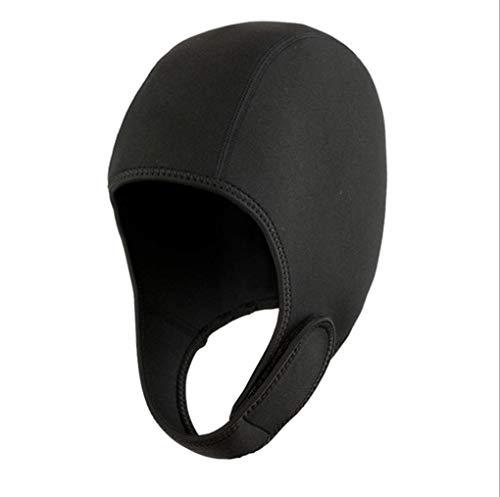 SaniMomo Performance 5mm Neoprene Dive Hood//Wetsuit Hood//Bib Hood//Snorkeling Hood//Surfing Hat Hood Select Sizes