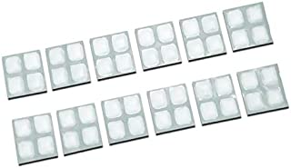 Lunch Ice Pack - 2x2 FlexiFreeze Reusable Ice Sheets for Lunch Box Bag or Tote - 12 Pack