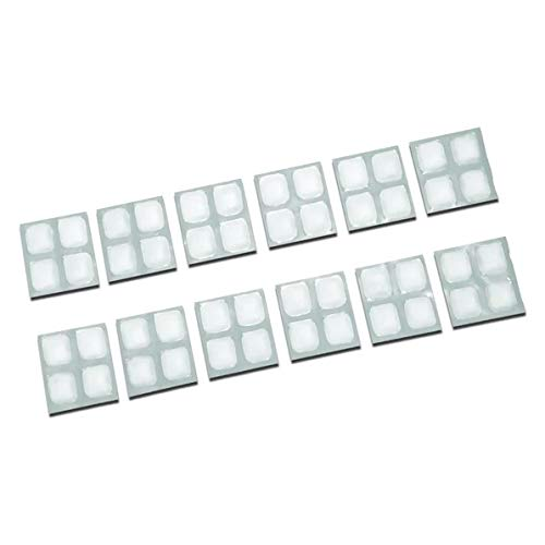 Lunch Ice Pack - 2x2 FlexiFreeze Reusable Ice Sheets for Lunch Box Bag...