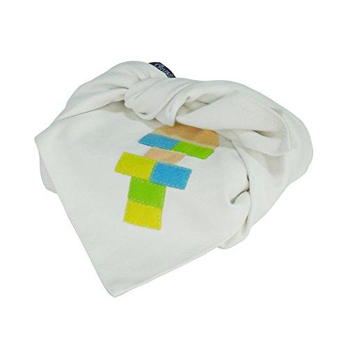 Pigeon Fleet Juego nostálgico Hecho a Mano de Dibujos Animados Furoshiki Wrapping Cloth para Wrap Bento Lunch Gift, Blanco