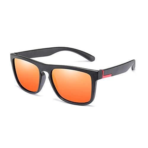 Gafas De Sol Hombre Mujeres Ciclismo Polarized Flexible Sunglasses Unisex Sun Glasses Men Square Gifts-1-Kp8848-C4