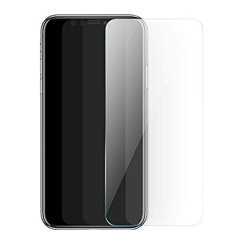 qiaohuan shop Protector de pantalla de cristal templado mate compatible con i-Phone...