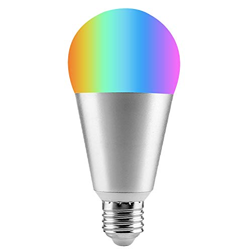 MSRM Smart Light Bulb, 60W Equivalent,Decorative Lights,APP Remote Control,Dimmable, Compatible with Alexa and Google Assistant,No Hub Required, 9W, E26,E27