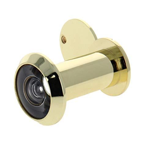YPASDJH 1~3pcs 200 Visor Grado Inicio Puerta for 35-60mm Grueso Puertas de Seguridad Espectador del Ojo de Puerta para Oficina en casa (Color : Gold x1pcs)