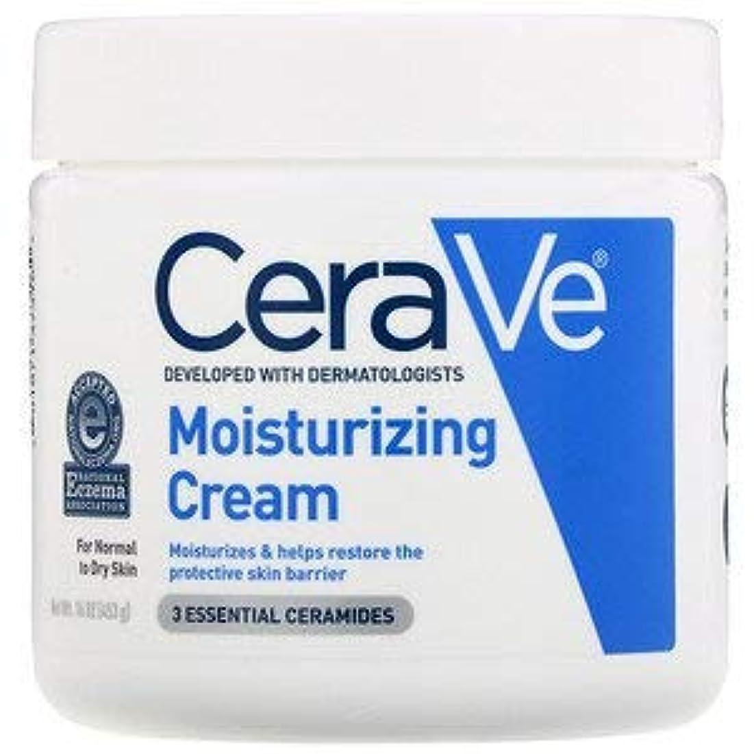 エンコミウム充実マダム並行輸入品Cerave Cerave Moisturizing Cream, 16 ozX 3パック