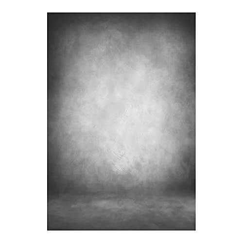 Leowefowa 2x3m Vinyl Fotohintergrund Abstrakt Textur Grauer Hintergrund Gradient Einfarbig Fotoleinwand Hintergrund für Fotostudio Requisiten Baby Kinder Porträt Photo Booth