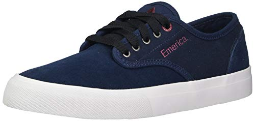 Emerica mens Wino Standard Low Top Skate Shoe, Blue/Grey, 10 US