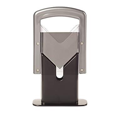 Lifetime Brands 5087464 Hoan Bagel Guillotine Slicer, Silver