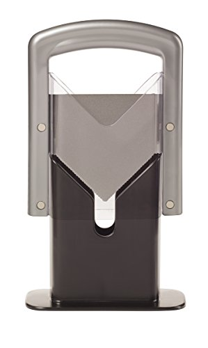 Hoan The Original Bagel Guillotine Universal Slicer, Silver, 9.25-Inch -
