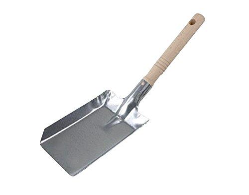 BawiTec Metallschaufel Handschaufel Schaufel Ascheschaufel Kaminschaufel verzinkt