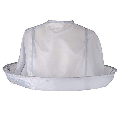 AMACOAM Capa Chal Plegable de Salón de Peluquería para Cortar el Pelo, Accesorio de Peluquería Capa de Corte de Pelo Umbrella Peluqueria Cape Home Use Chal Delantal