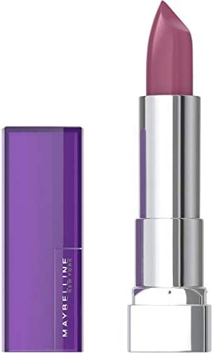 Maybelline Color Sensational Lipstick, Lip Makeup, Cream Finish, Hydrating Lipstick, Nude, Pink, Red, Plum Lip Color, Born With It, 0.15 oz; (Packaging May Vary)