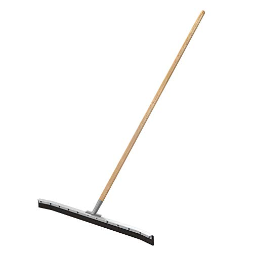 Bon Tool Bon 14-451 36-Inch Curved Floor Squeegee with 60-Inch Wood Handle