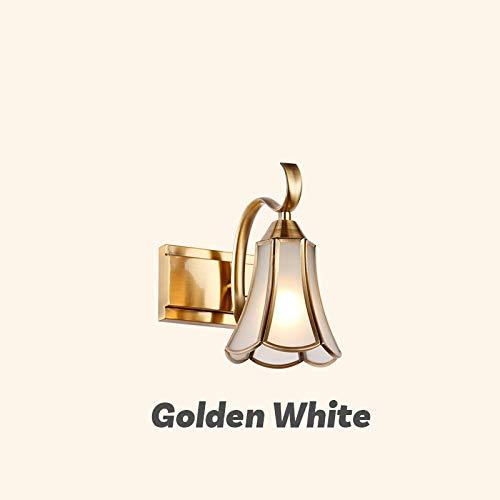 Badkamerspiegel wandlamp klassieke LED-afbeelding lamp salon kledingwinkel spiegel wandlamp lamp badkamerspiegel make-up goud 3 koppen