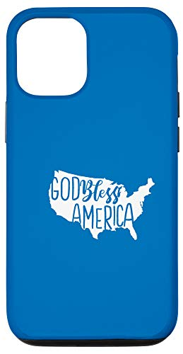 iPhone 12/12 Pro God Bless America - USA Map American Roots United Sates Gift Case