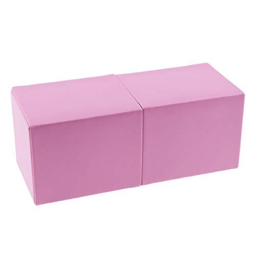Sharplace Boîte Magnétique Organisateur Maquillage Distributeur Boîte de Rangement Cosmétiques Organisateur pour Pinceaux à Maquillage Stylo - Rose