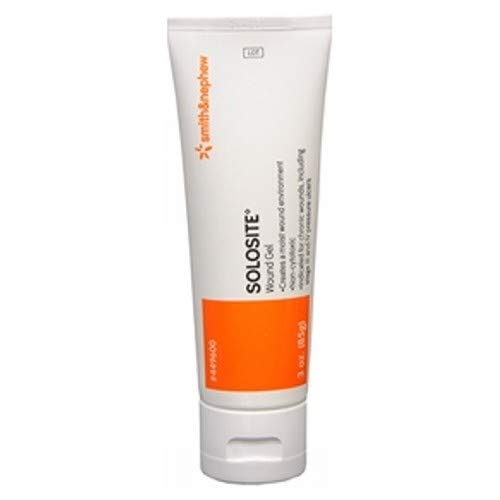 Solosite Hydrogel Wound Gel 3 Oz (Pack of 2)
