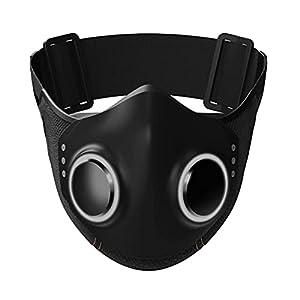 Maschera facciale high-tech Maschera facciale high-tech super protettiva per adulti Maschera traspirante riutilizzabile per donne Shield