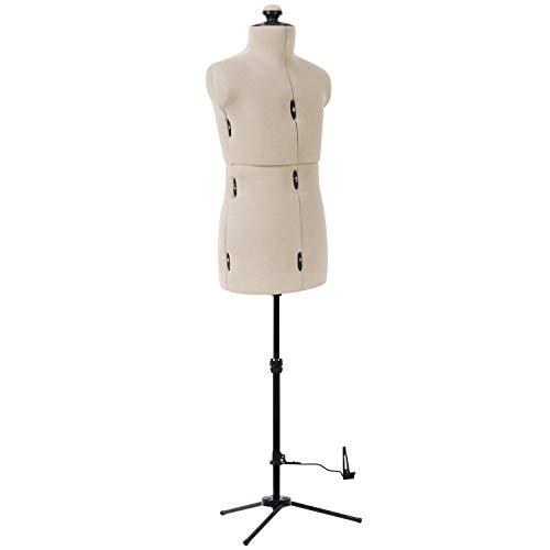 Dritz Little Double Adjustable Dress Form, Child, Beige - 20001
