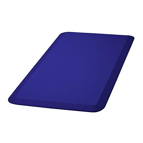 HemingWeigh 3/4 Inch Non-Slip Anti-Fatigue Comfort Mat, Ergonomically Engineered, Non-Toxic, Material, Waterproof, 20 x 39 inches (Black)