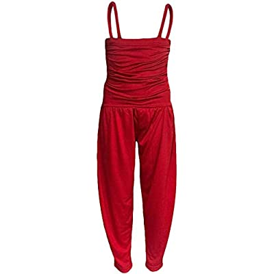 A2Z 4 Kids/® Girls Jumpsuit Kids Plain Color Trendy Playsuit All in One Jumpsuits New Age 5 6 7 8 9 10 11 12 13 Years