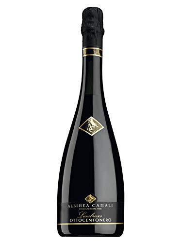Vino Lambrusco Ottocentonero, Albinea Canali 75 cl