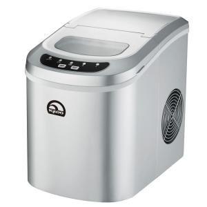 IGLOO ICE102-SLV Silver Color Portable Ice Maker (ICE102-SLV)