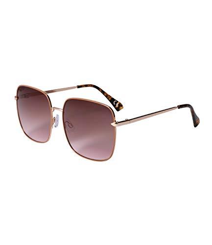 SIX Sonnenbrille für Damen im Piloten-Design, Schildpatt-Details, Linsen-Kategorie 2, UV400 Filter (326-208)