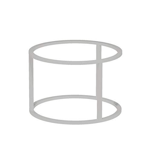 Koffietafel plank, Theetafel been beugel, Ronde kleine bijzettafel been tafel frame, Dikke stalen buis, Hoge temperatuur bakken vernis, Diameter 60cm