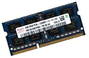 HYNIX (Mihatsch & Diewald) Netbook RAM 1 x 4 GB 204 pin DDR3-1333 SO-DIMM (1333Mhz, PC3-10600, CL9) für Acer Aspire One 521 (AO521) + 522 (AO522) + 721 (AO721) + 722 (AO722) + 753 (AO753)