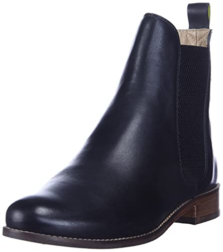Joules womens Bootie Chelsea Boot, Black, 7 US