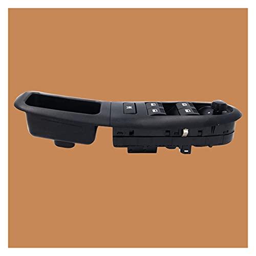 CMEI Panel de botón de control de interruptor eléctrico izquierdo delantero izquierdo para Peugeot 406 1997-2001 2002 2003 2004 272693628740