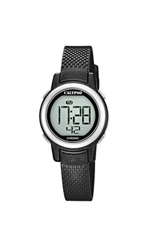 Calypso Damen Digital Quarz Uhr mit Plastik Armband K5736/3
