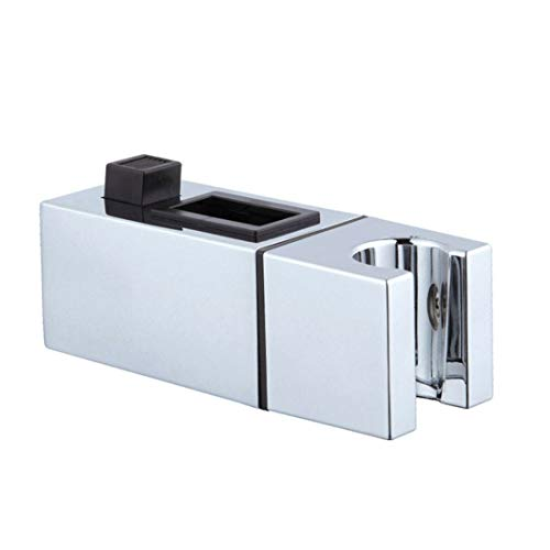 Jubang Handbrause Halterung für Duschkopf, verstellbar, Halterung für Duschstange, Handbrause, Badezimmer, quadratisch, M