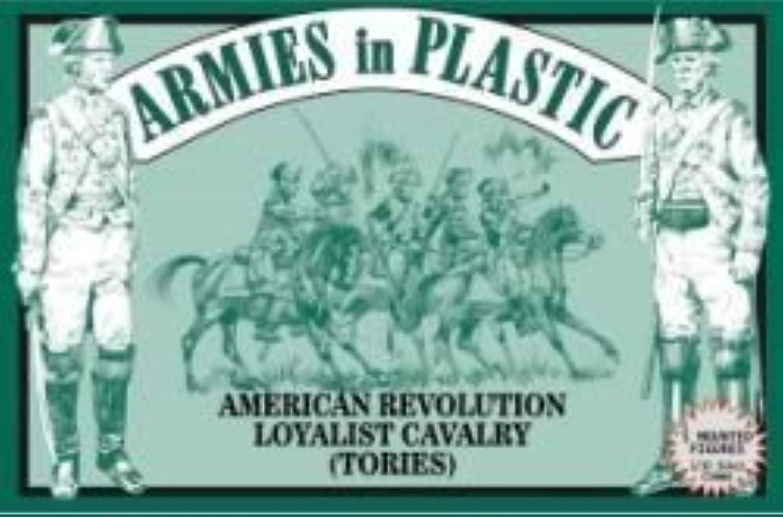 mas barato American Revolution Loyalist Cavalry (Tories) (5 Mounted) 1 32 Armies Armies Armies in Plastic by Armies in Plastic  diseñador en linea