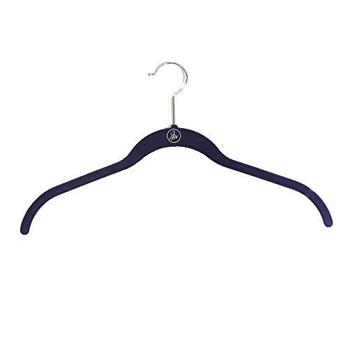 Joy Mangano Huggable Hanger Set for Suits and Pants 10-Pc. AX-AY-ABHI-124292 1, Black