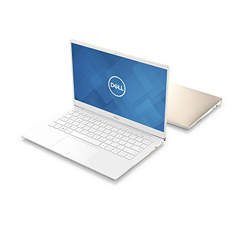 New Dell XPS13, XPS9380-7885GLD-PUS, Intel Core i7-8565 (8MB Cache, up to 4.6GHz), 8GB 2133Hz RAM, 13.3' 4K Ultra HD (3840x2160) InfinityEdge Touch Display, 256GB SSD, Fingerprint Reader, Gold