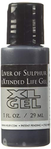 Liver of Sulphur Gel, 1 Ounce Bottle   SOL-610.01