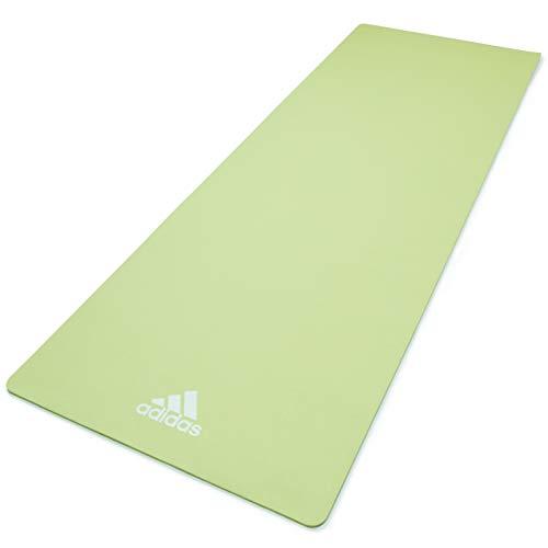 adidas, Tappetino Yoga Unisex-Adult, Verde, 8 mm