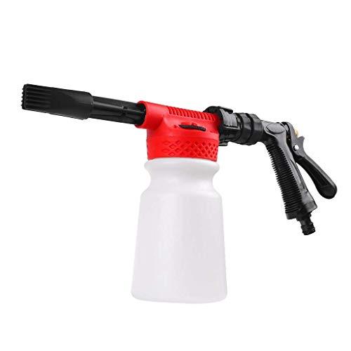 Tubayia 2 en 1 limpiador de alta presión, pistola de agua, pulverizador de espuma para lavado de coches, riego de jardín