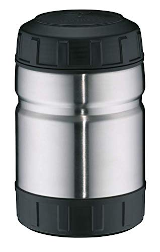 alfi Thermobehälter für Essen Outdoor, Edelstahl mattiert 750ml, großes Speisegefäß für Speisen, Suppen oder Müsli unterwegs, auslaufsicher, BPA-Frei, 6 Stunden heiß, 10 Stunden kalt - 5708.205.075