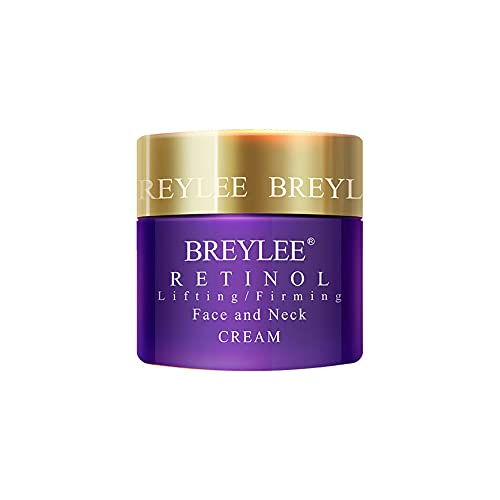 LIZHOUMIL 40g Nourishing Hyaluronic Acid Cream Vitaminc C Whitening Cream Moisturizing Skin Care Firming Anti-wrinkle Cream 40g Retinol Face Cream (Purple)
