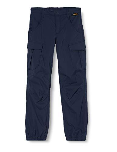 Jack Wolfskin Jungen Treasure Hunter Pants Kids Schnelltrocknende Kinder Wanderhose, Night Blue, 140