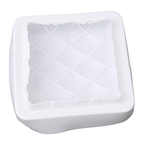 French Pastry Baking Mold Square Pillow Shape Silicone Cake Mold For Making Bread Chocolate Mousse Cake Ice Cream Pudding Handmade Soap