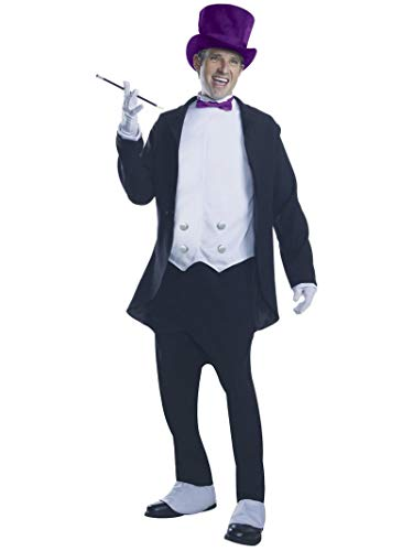Rubie's Men's Batman Classic TV Series Deluxe Adult Penguin Costume, Multi-Colored, Standard