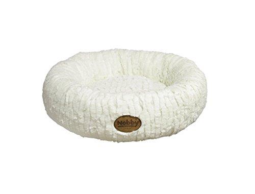 Nobby Nova Donut pour Chien Blanc Ivoire Diamètre 45 cm