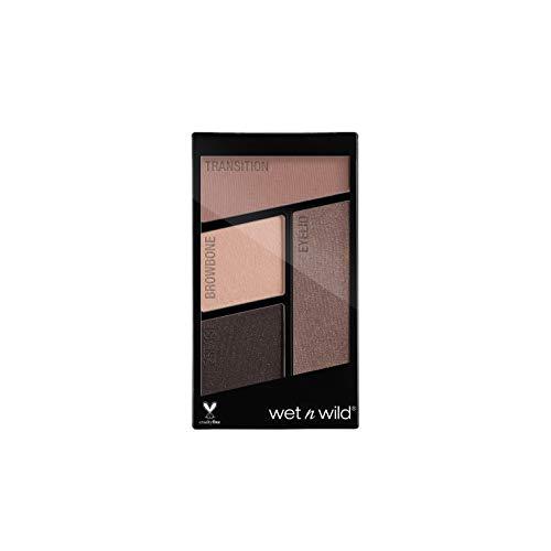 Wet N Wild Lidschatten Palette – Coloricon™ Eyeshadow Quad mit 4 hochpigmentierten Farben, Silent Treatment, 1 Stück, 2g